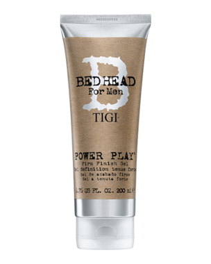TIGI B For Men Power Play Fir Finish Gel 200ml