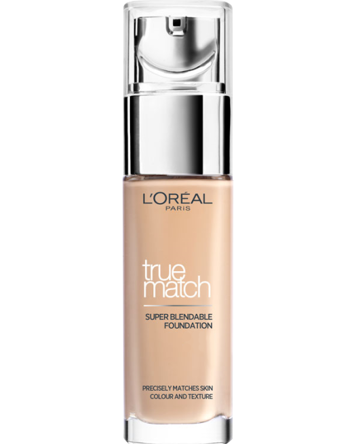 True Match Foundation 30ml, W3 Golden Beige