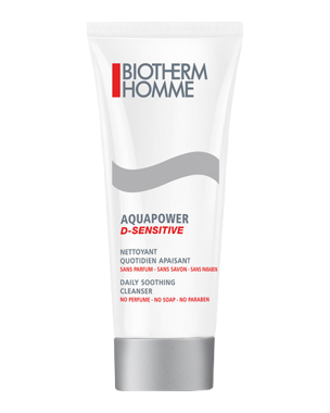 Biotherm Homme Aquapower D-Sensitive Daily Cleanser 125ml