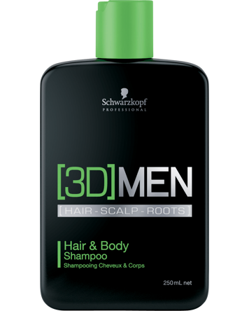Schwarzkopf Professional 3D Men Hair & Body Shampoo