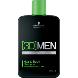 3D Men Hair & Body Shampoo