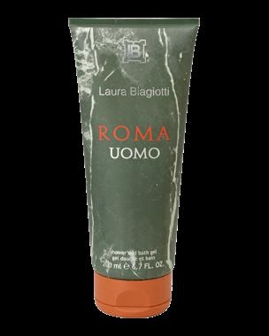 Laura Biagiotti Roma Uomo, Bath & Shower Gel 200ml