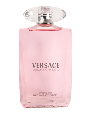 Versace Bright Crystal, Bath & Shower Gel 200ml