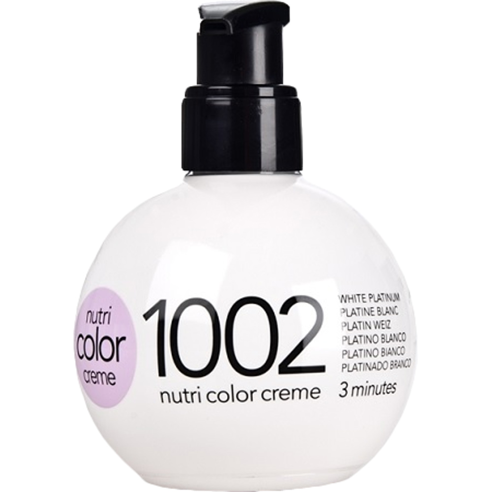 Revlon Nutri Color Creme 1002 White Platinum
