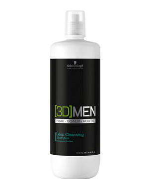 Schwarzkopf Professional 3D Men Deep Cleansing Shampoo