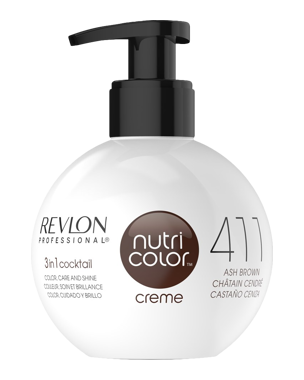 Revlon Nutri Color Creme 411 Ash Brown