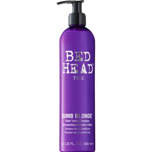Bed Head Dumb Blonde Purple Toning Shampoo 400ml