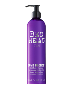TIGI Bed Head Dumb Blonde Purple Toning Shampoo 400ml