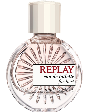 Replay Replay For Her, EdT 40ml