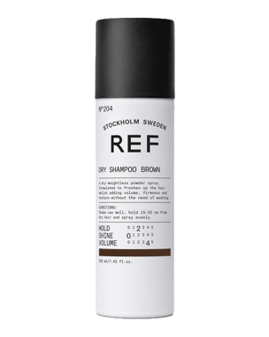 REF Brown Dry Shampoo 204 200ml