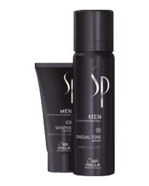 Wella SP Men Gradual Tone Brown 60ml + 30ml