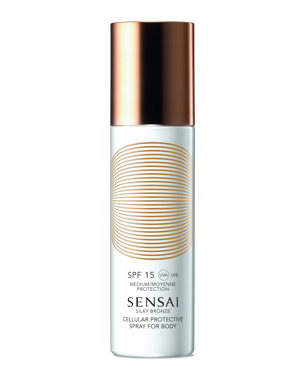 Silky Bronze Spray For Body SPF15
