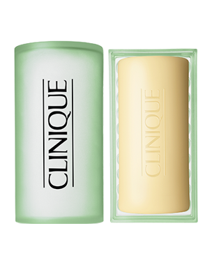 Clinique Facial Soap with Dish 100g (Oily Skin Formula)