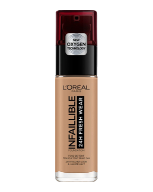 L'Oréal Infaillible Foundation 24H Fresh Wear, 30ml