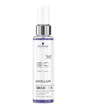 Schwarzkopf Professional BC Excellium Beautifying Silver Spray 100ml