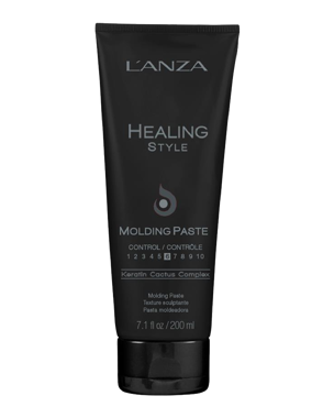 LANZA Healing Style Molding Paste Black 200ml