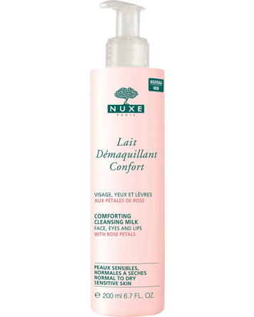 Nuxe Comforting Cleansing Milk With Rose Petals 200ml