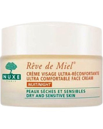 Nuxe Reve de Miel UltraComf Night Cream (Dry/Sensitive) 50ml