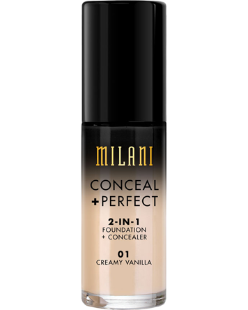 Conceal + Perfect 2 in 1 Foundation, Medium Beige