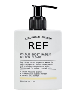 REF Colour Boost Masque Golden Blonde 200ml