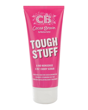 Cocoa Brown Tough Stuff 3-in1 Scrub 200ml