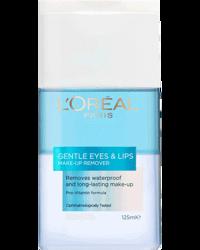 L'Oréal Gentle Eyes & Lips  Make-Up Remover, 125ml