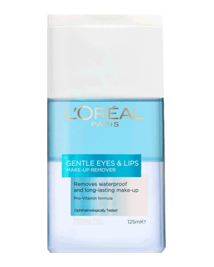 L'Oréal Gentle Eyes & Lips  Make-Up Remover, 125ml