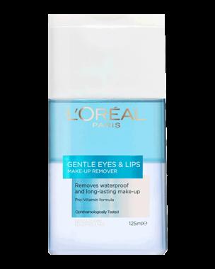 Gentle Eyes & Lips Waterproof Make-Up Remover, 125ml