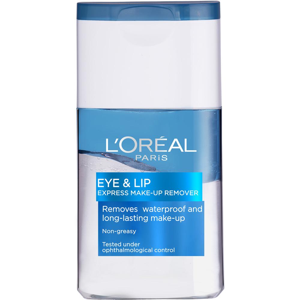 L'Oréal Gentle Eyes & Lips Waterproof Make-Up Remover, 125ml