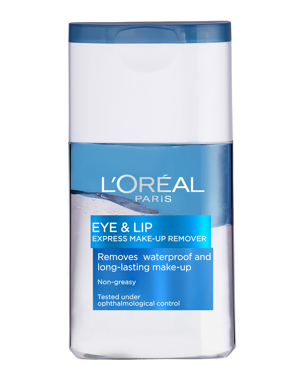 L'Oréal Gentle Eyes & Lips Waterproof Make-Up Remover, 125ml