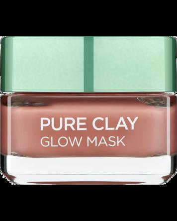 L'Oréal Pure Clay Glow Mask - Red Algae 50ml