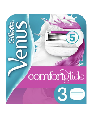 Gillette Venus & Olay Comfortglide 3-pack (Yellow)