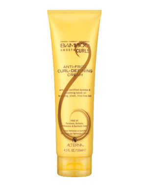 Alterna Bamboo Smooth Anti-Frizz Curl Defining Cream, 133ml
