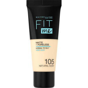 Fit Me Matte + Poreless Foundation, 115 Ivory