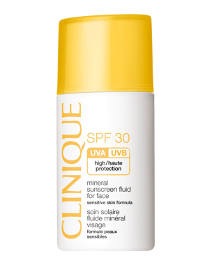 Clinique Mineral Sun Screen Fluid for Face SPF30, 30ml