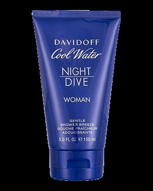 Davidoff Cool Water Night Dive Woman, Shower Gel 150ml