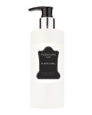 Montazami Brand Black Label, Hand & Body Wash 300ml