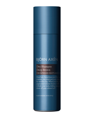 Björn Axén Dry Shampoo Deep Brown, 200ml