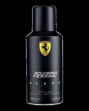 Ferrari Scuderia Black, Deospray 150ml