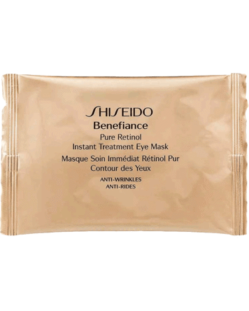 Benefiance Pure Retinol Instant Treatment Eye Mask 12 piece