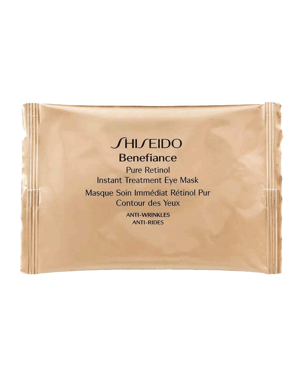 Shiseido Benefiance Pure Retinol Instant Treatment Eye Mask 12 piece