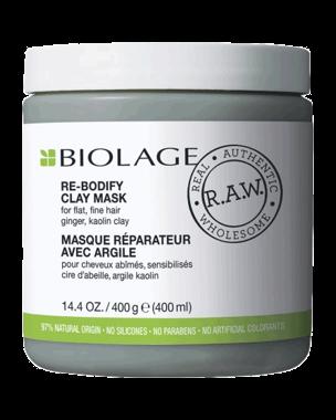 Matrix R.A.W Uplift Rebodify Clay Mask, 400ml