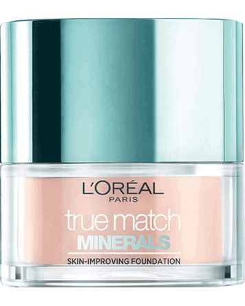 True Match Minerals Powder Foundation 10g, 4W Natural Golden