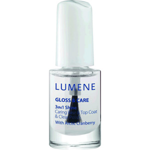 Gloss & Care 3-In-1 Shine Caring Base & Top Coat, 5ml