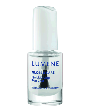 Lumene Gloss & Care Quick Drying Top Coat, 5ml