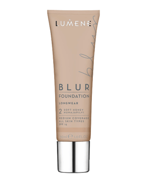 Lumene Longwear Blur Foundation SPF15, 30ml