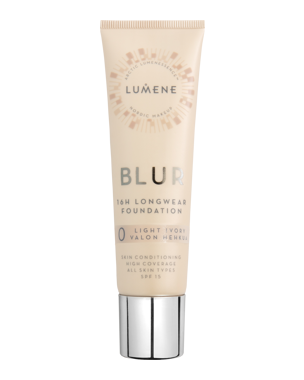 Lumene Longwear Blur Foundation SPF15, 30ml