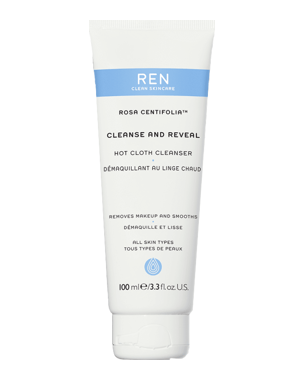 REN Rosa Centifolia Hot Cloth Cleanser, 100ml