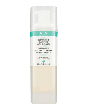 REN ClearCalm 3 Clarifying Clay Cleanser, 150ml