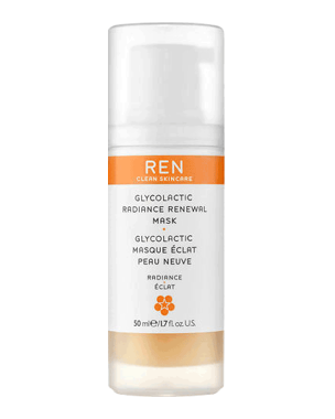 REN Glycolactic Radiance Renewal Mask, 50ml